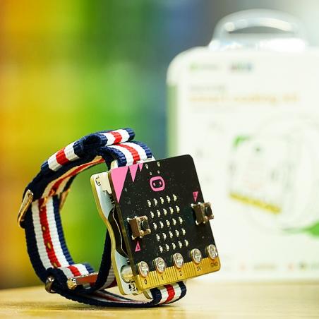 Elecfreaks Micro:bit hodinky (smart coding kit) (bez micro:bitu)