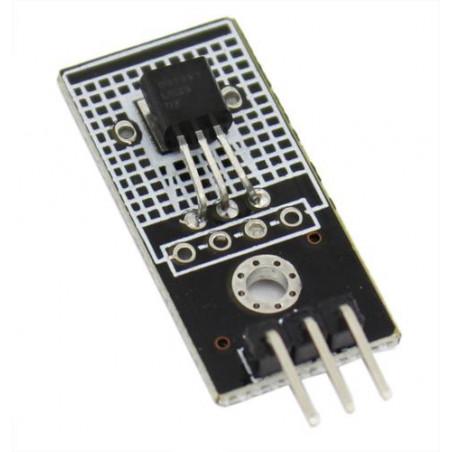 Analogový teplotní senzor s kabelem, LM35DZ