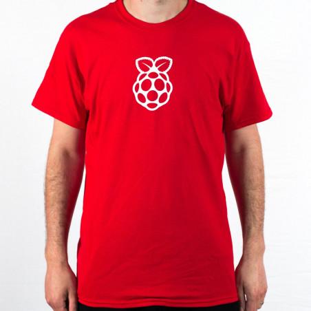 Raspberry Pi pánské tričko červené