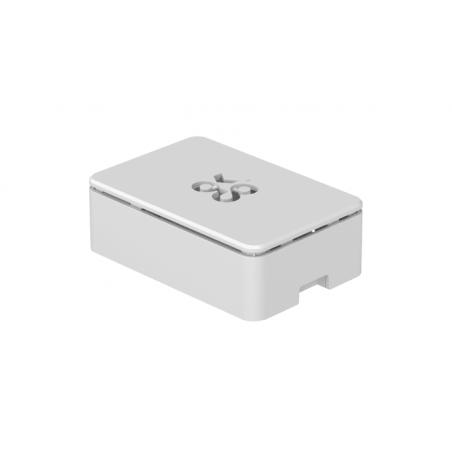 Okdo krabička pro Raspberry Pi 4, bílá, plast