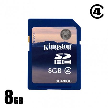 Použitá 8GB SDHC karta Kingston cl.4