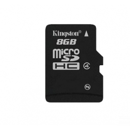 Použitá 8GB microSDHC karta...
