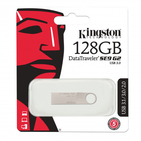 Kingston DataTraveler SE9 G2, 128GB