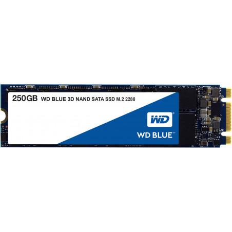 WD Blue 3D NAND, M.2 2280, 250 GB, WDS250G2B0B