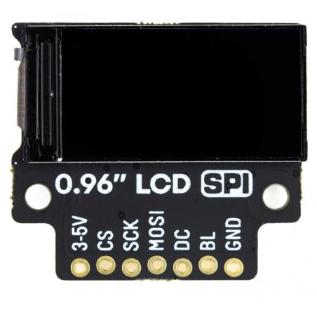 """Pimoroni 0.96"""" SPI LCD displej, 160x80, barevný, breakout modul"""