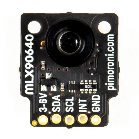 Pimoroni MLX90640 termální kamera 55°, breakout modul