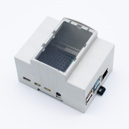 DIN krabička pro Raspberry Pi 4B