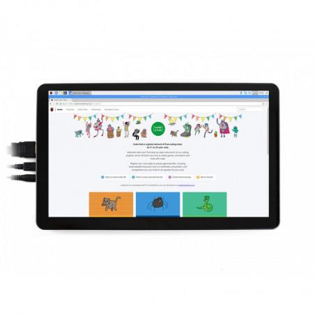 "Waveshare 15.6"" HDMI LCD (H) displej, IPS, 1920x1080, dotykový, kapacitní + kryt"