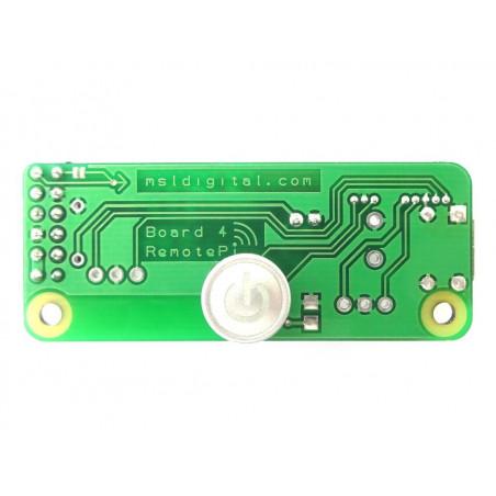 RemotePi vypínač pro Pi 4 (externí IR a LED)