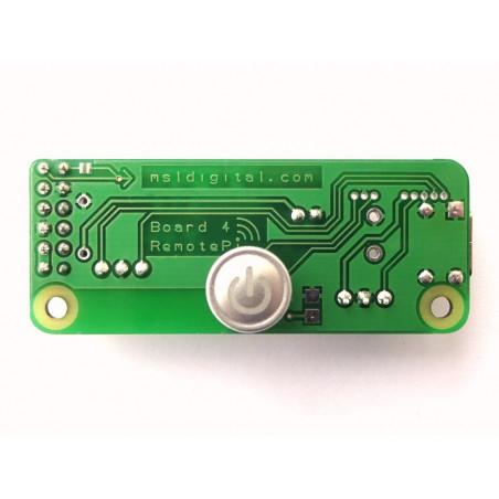 RemotePi vypínač pro Pi 4 (interní IR a LED)
