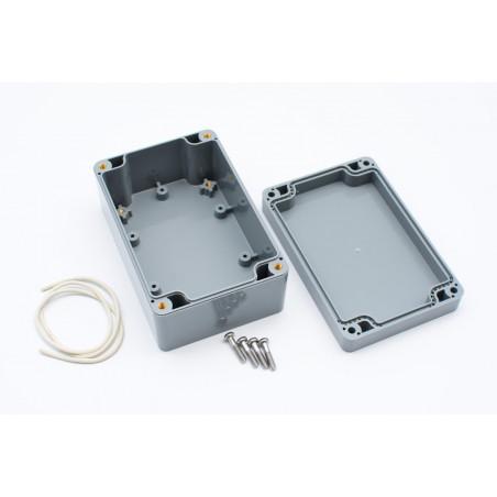 Multicomp víceúčelová plastová krabička, IP65, šedá