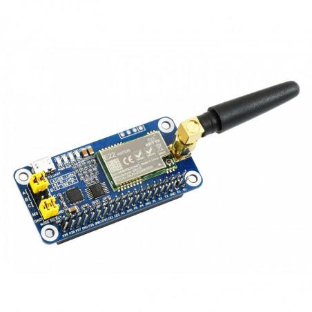 Waveshare SX1268 LoRa HAT pro Raspberry Pi, 433MHz, pro Evropu, Asii, Afriku