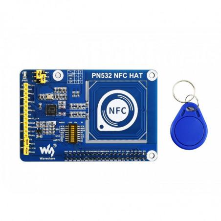 Waveshare PN532 NFC HAT pro Raspberry Pi, I2C / SPI / UART
