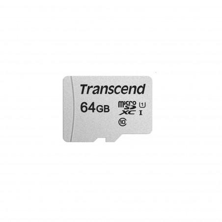 NOOBS + 64GB Transcend 300S microSDXC UHS-I U1 TS64GUSD300S