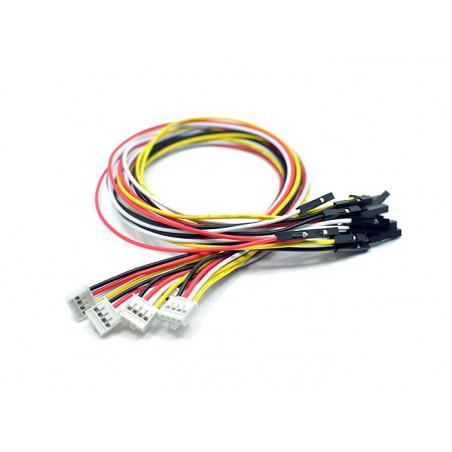 Propojka z Grove konektoru na 4 pin dupont samice (5 kusů v balení)