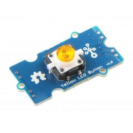 Grove - Žluté LED tlačítko
