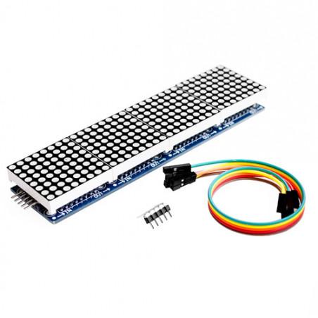 Maticový LED displej 8x8, 4 v 1, s kontrolerem MAX7219