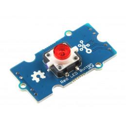 Grove - Červeného LED tlačítko