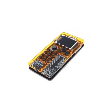 MAKERphone Ringo, DIY mobilní telefon, průhledný žlutý