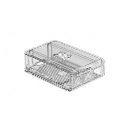 Okdo Slide Case, krabička pro Raspberry Pi 4, průhledná, plast