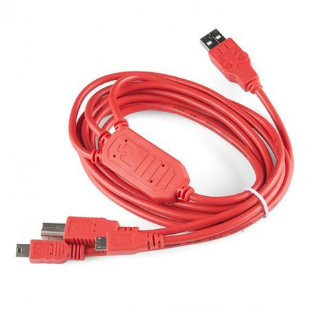 SparkFun Cerberus - multifunkční USB kabel