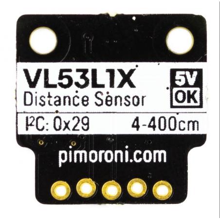 VL53L1X Time of Flight (ToF) Sensor, I2C, breakout modul