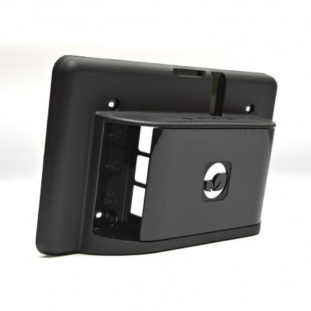 """Multicomp krabička pro oficiální 7"""" dotykový displej a RPi 4B, černá"""