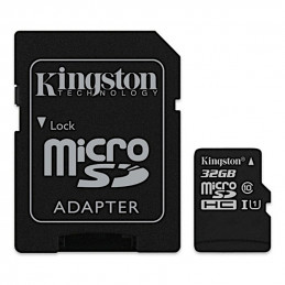 NOOBS + 32GB Kingston microSDHC UHS-I U1 SDCS/32GB + SD adaptér