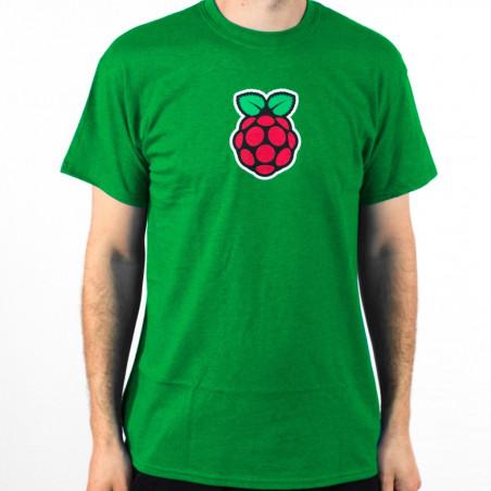 Raspberry Pi pánské tričko Antique Irish Green