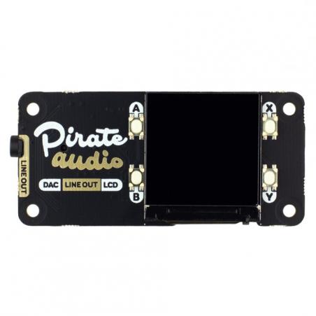 Pimoroni Pirate Audio: Line-out pro Raspberry Pi
