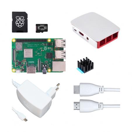 Raspberry Pi 3B+/1GB sada - oficiální bílá