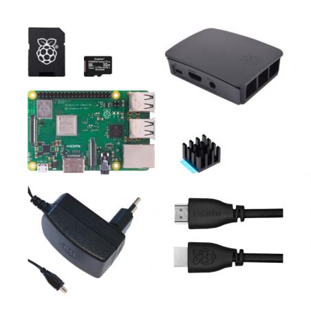 Raspberry Pi 3B+/1GB sada - oficiální černá