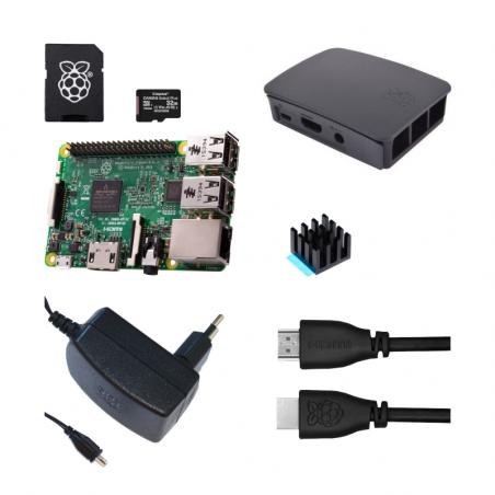 Raspberry Pi 3B/1GB sada - oficiální černá
