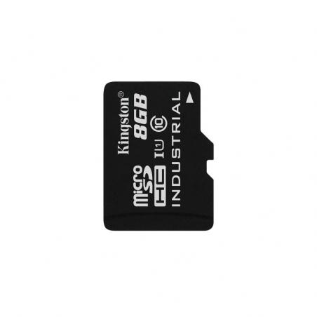 Kingston 8GB Industrial microSDHC UHS-I U1 C10 SDCIT/8GBSP - SW: NOOBS