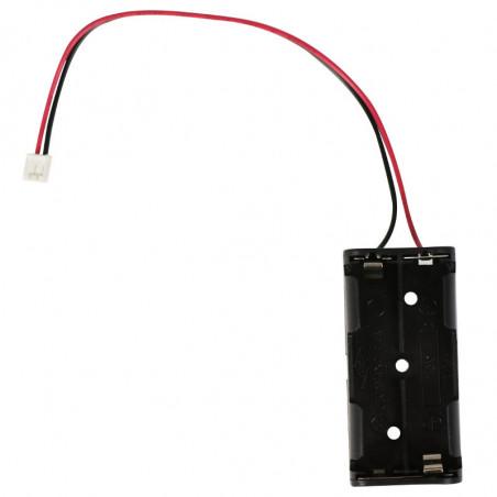 Držák na 2x AAA baterie s JST konektorem
