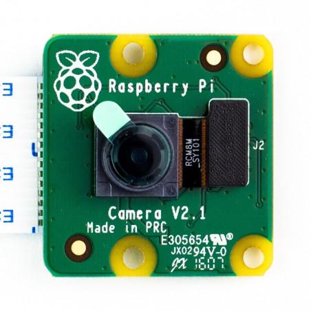 Rozbalená Raspberry Pi kamera V2