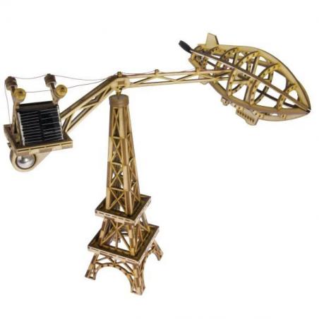 Solarbotics Paris Flyer CarouSol Kit