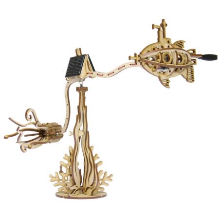 The Solarbotics Squid Hunting CarouSol Kit