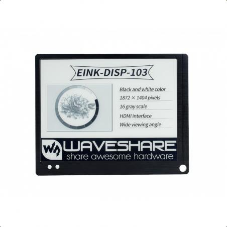 """Waveshare 10.3"""" E-paper Monitor, HDMI"""