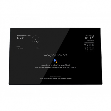 """Waveshare 13.3"""" Magic mirror, hlasový asistent, dotykové ovládání"""