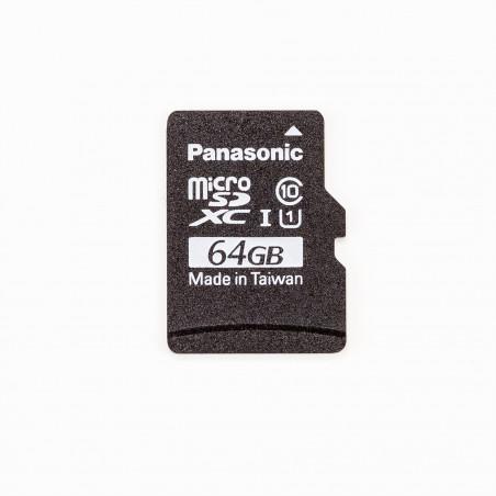 Raspberry Pi 64GB microSDXC Class 10 UHS-I U1 A1 - SW: NOOBS a Raspbian