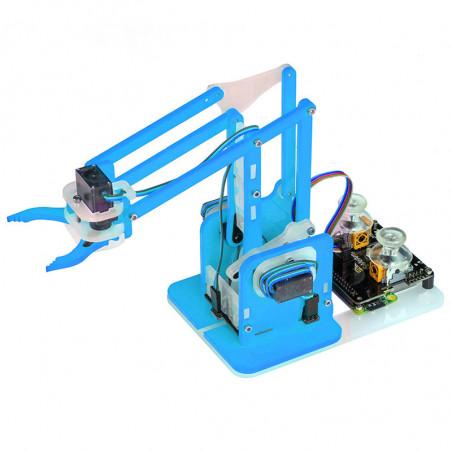 MeArm Robot Raspberry Pi Kit - modrý