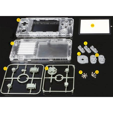 Krabička a tlačítka pro ODROID-GO Advance, V2
